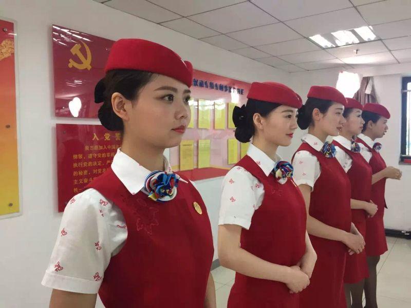 郑州高铁学校高铁乘务专业